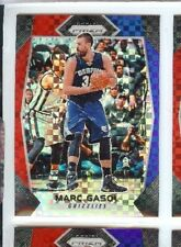 MARC GASOL 2017 18  PANINI PRIZM RED WHITE BLUE HOLO REFRACTOR #204 GRIZZLES