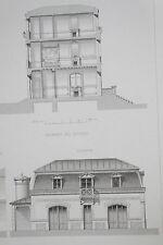 Architecture Viollet-le-Duc Habitations Modernes Maison HOTEL PRIVE A PARIS
