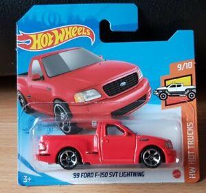 Hotwheels 2021 Ford F150 SVT Lightning 9/10 HW Hot Trucks