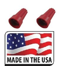 Red Wire Twist Nut Electrical Connectors (1000) Splice Made in USA