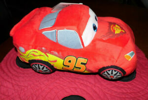 DISNEY ~ PIXAR ~ CARS STUFFED ~ AGES 3 AND UP ~ NEW ~ PERFECT FOR A GIFT