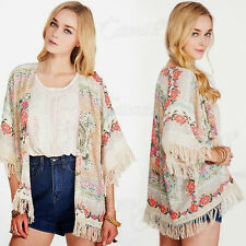 Floral Chiffon Coats & Jackets Plus Size for Women
