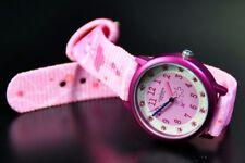 PALLAS Niños Reloj de pulsera rosa con cintas tela 7300.12.12