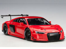 Autoart Audi R8 LMS 1:18 Model Car Plain Color Version Red 81601