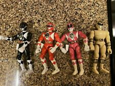 Lot Of 4 Power Rangers 6? Action Figures