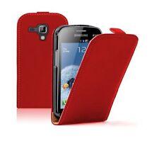 Carcasas, estuches y fundas rojas de piel para reproductores MP3 Samsung