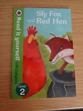 Ladybird Read it Yourself Sly Fox & Red Hen Level 2 new PB RRP £4.99