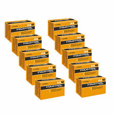 100 Duracell Industrial AA Size 1.5V Alkaline Professional Performance Battery