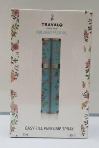 Travalo Milano Floral Easy Fill Perfume Spray 5ml NEW & SEALED