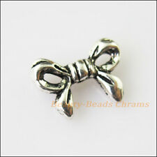 20 New Animal Butterfly Bow Charms Tibetan Silver Tone Spacer Beads 10x13.5mm