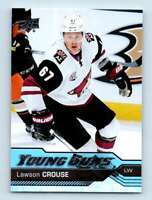 2016-17 Upper Deck Young Guns Lawson Crouse RC #202