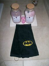 Personalized Embroidered Golf Bowling Workout Towel with Batman logo