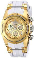 Invicta 16112 Womens Bolt Quartz Chronograph Gold Dial Watch