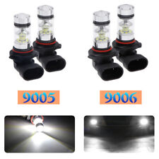 Combo 9005+9006 LED Hi-Low Beam Headlight Fog Lamps 6000K White 200W 6400LM Kit