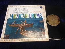 Adventures In Sound Jamaican Drums LP VG+ vinyl  Early Columbia