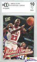 1996/97 Ultra #16 Michael Jordan BECKETT 10 MINT Chicago Bulls Hall of Fame GOAT