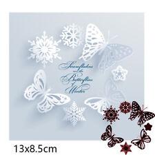 Snowflake Butterfly Star Metal Cutting Dies Scrapbooking Craft Embossing stencil