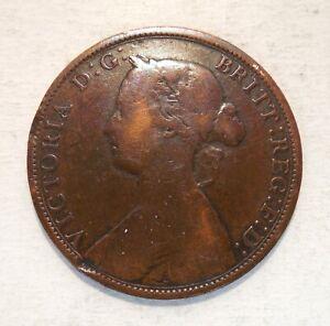 1862 - Canada One Cent - Nova Scotia - 1¢ - Victoria
