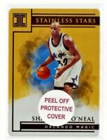 2019/20 Impeccable Shaquille O'Neal Gold Stainless Stars #/10 Orlando Magic 🔥
