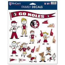 Florida State Seminoles Family Sticker Set Decals