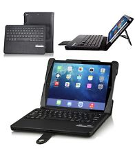 iPad Air Detachable Bluetooth Keyboard with Executive PU Leather Case and Stand