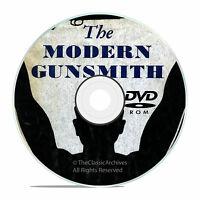 Modern Gunsmith, + 74 Old Vintage Gunsmithing Books on DVD Collection, V19
