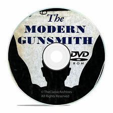 Modern Gunsmith, + 74 Old Vintage Gunsmithing Books on DVD Collection, V19