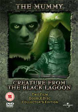 The Mummy/Creature from the Black Lagoon 2 Disc Collectors Edition Dvd