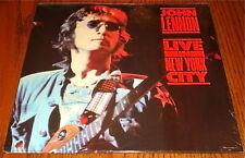 JOHN LENNON LIVE IN NEW YORK CITY ORIGINAL LP STILL FACTORY SEALED MINT!