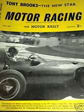 TONY BROOKS NURBURGRING 1000KM 1957 ASTON MARTIN DBR1