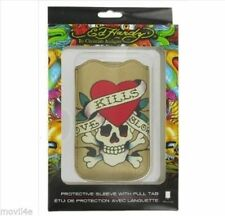 Cover Ed Hardy Original LKS para Iphone 4S,4,3G S,3G gold New Blister