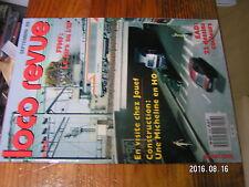 1µ? Revue Loco Revue n°518 Usine Jouef Photodoc Les  EAD  Faire Micheline Typ 22