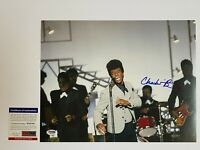 CHADWICK BOSEMAN SIGNED GET ON UP 11X14 PHOTO AUTOGRAPH PSA/DNA COA AVENGERS A