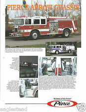 Fire Equipment Brochure - Pierce - Arrow Chassis - c1994 (DB193)