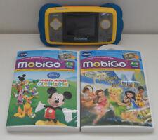 Vtech Mobigo Console Touch sistema di apprendimento e 2 GIOCHI giocattolo educativo-Mickey