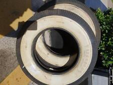 Firestone 600-16 Whitewall Tyres x 2