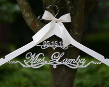 Personalized Wedding Hanger Bridesmaid Mother of the Bride Dress Hanger EL020