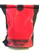 ORTLIEB Classic Bike Messenger Bag Kuriertasche, Red, Waterproof 30 Liter