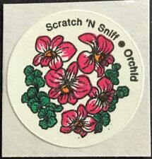 Honeysuckle #2 Vintage CTP MATTE Scratch /& Sniff Stickers Excellent!!