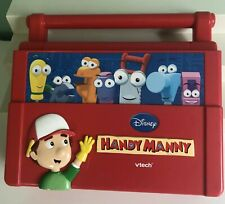 Vtech Disney Handy Manny Construction Learning Laptop Toy