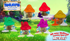 The Smurfs The Lost Village McDonald's Happy Meal Toy #6 2017 Hut House & Figure