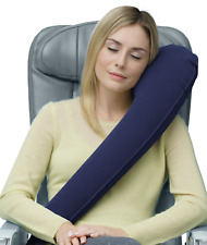Travelrest Ultimate Inflatable Travel Pillow Neck Shoulder Sleep Support (Navy)