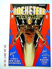 COMICO THE ROCKETEER ADVENTURE MAGAZINE # 1 DAVE STEVENS ART COMIC BOOK! NEW!