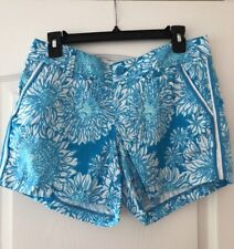 Lilly Pulitzer Ariel Blue Lion In The Sun Callahan Short Sz. 4