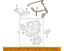 TOYOTA OEM Blower Motor Fan-Wire Harness 822120R010