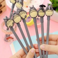 4Pcs My Neighbour Totoro Black Ink Gel Pen Kawaii Ball Point Pen School Supply