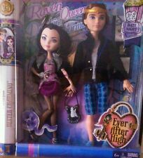 EVER AFTER HIGH - RAVEN QUEEN + DEXTER CHARMING - DATE NIGHT DOLLS BNIB
