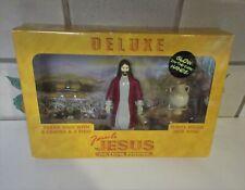 Deluxe Miracle Jesus Action Figure w/ Glow in Dark Hands #11537 2005 NIB