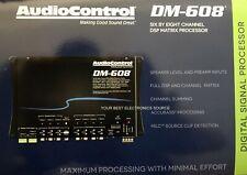 New listing New Audio Control Dm608 Premium 6 Input, 8 Output, Dsp Matrix Processor Dm-608