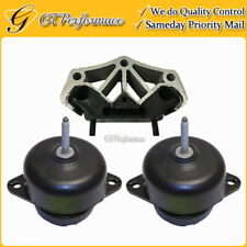 Quality Hydraulic Engine & Trans. Mount 3PCS for 11-15 Ford Mustang 3.7L/ 5.0L